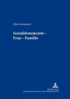 Sozialdemokratie - Frau - Familie - Wondratsch, Hilde