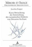 Kurze Betrachtung der Entwicklung des europäischen Denkens von Descartes bis Kant
