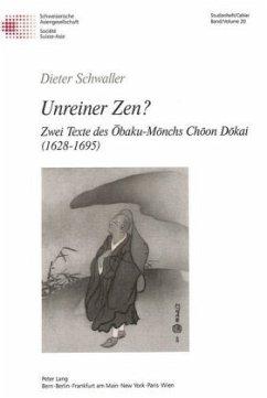 Unreiner Zen? - Schwaller, Dieter