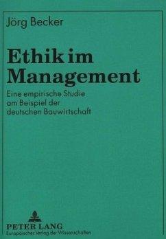 Ethik Im Management - Becker, Jörg