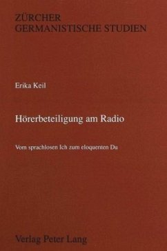 Hörerbeteiligung am Radio - Keil, Erika