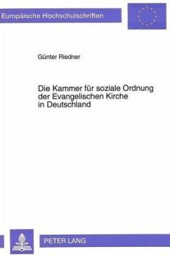 Die Kammer für soziale Ordnung der Evangelischen Kirche in Deutschland