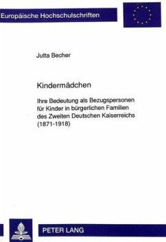 Kindermädchen - Becher, Jutta