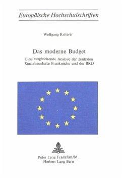 Das moderne Budget - Kitterer, Wolfgang