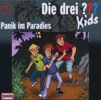 Panik im Paradies / Die drei Fragezeichen-Kids Bd.1 (CD)