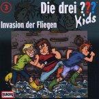 Invasion der Fliegen / Die drei Fragezeichen-Kids Bd.3 (CD)