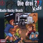 Radio Rocky Beach / Die drei Fragezeichen-Kids Bd.2 (CD)