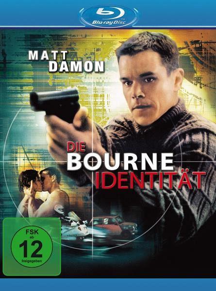 Die Bourne Identität - Matt Damon,Franka Potente,Chris Cooper,Clive Owen