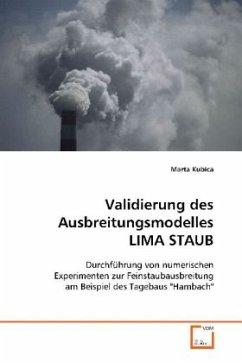 Validierung des Ausbreitungsmodelles LIMA STAUB