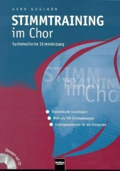 Stimmtraining im Chor, m. Mixed-Mode-CD