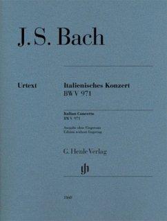 Italienisches Konzert BWV 971, Klavier