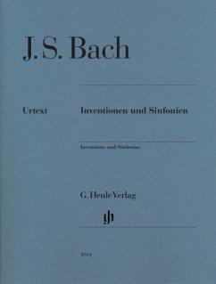 Inventionen und Sinfonien BWV 772-801, Klavier