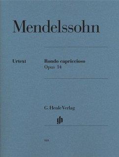 Rondo Capriccioso op.14, Klavier (Scheideler)