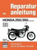 Honda 250/350 (2 Zylinder) Baujahr 1970-1974