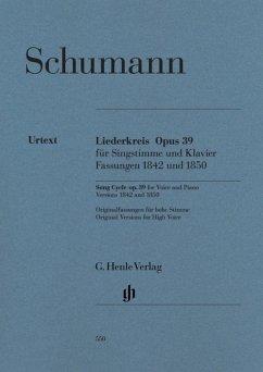 Liederkreis op.39, Gesang und Klavier