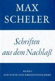 Schriften aus dem Nachlaß, Studienausgabe / Gesammelte Werke in 15 Bden. Bd.10, Tl.1