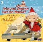 Unser Sandmännchen - Wieviel Sterne hat die Nacht, 1 Audio-CD