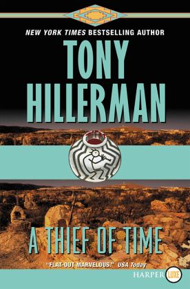 A Thief Of Time Von Tony Hillerman Englisches Buch border=