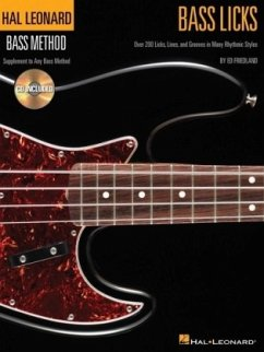 Bass Licks, w. Audio-CD