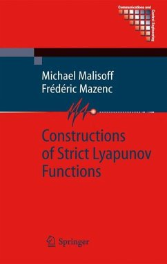Constructions of Strict Lyapunov Functions - Malisoff, Michael; Mazenc, Frédéric