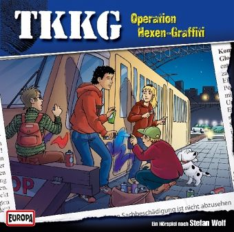operation hexen graffiti tkkg 1 audio cd von stefan wolf h rbuch. Black Bedroom Furniture Sets. Home Design Ideas