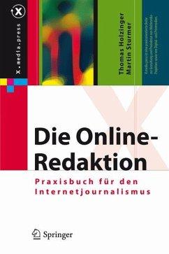 Die Online-Redaktion - Holzinger, Thomas;Sturmer, Martin