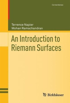 An Introduction to Riemann Surfaces - Napier, Terrence; Ramachandran, Mohan