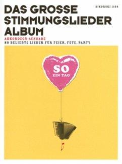 Das große Stimmungslieder-Album, Ausgabe für Akkordeon