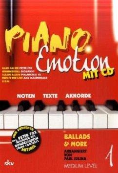 Piano Emotion, m. Audio-CD