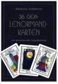 36 Geja-Lenormandkarten mit Buch
