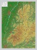 Schwarzwald, Reliefkarte, Klein; Black Forest