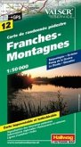 Hallwag Outdoor Map Franches-Montagnes