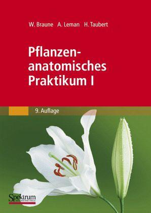 Pflanzenanatomisches Praktikum I von Wolfram Braune; Alfred Leman ...