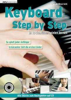 Keyboard Step by Step, m. Audio-CD