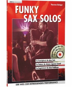 Funky Sax Solos, m. Audio-CD