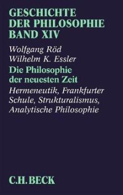 Geschichte der Philosophie 14 - Röd, Wolfgang; Essler, Wilhelm K.