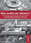 Was wußte der Westen?