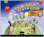 Sim Sala Sing, Original-Aufnahmen, 4 Audio-CDs