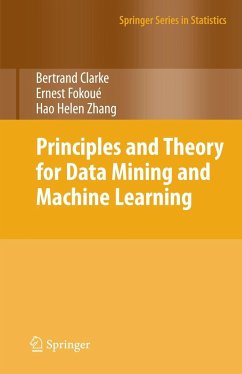 Principles and Theory for Data Mining and Machi...