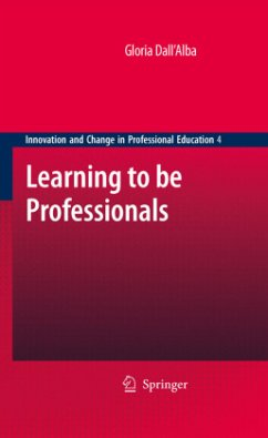 Learning to be Professionals - Dall'Alba, Gloria