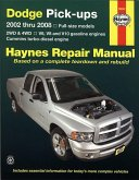 Haynes Dodge Pick-Ups: 2002 Thru 2008