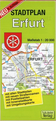 Doktor Barthel Stadtplan Erfurt