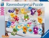 Ravensburger 15967 - Gelini: Badespaß, 1000 Teile Puzzle