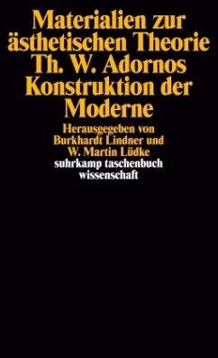Materialien zur ästhetischen Theorie. Theodor W. Adornos Konstruktion der Moderne