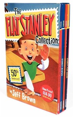 The Flat Stanley Collection Box Set: Flat Stanley, Invisible Stanley, Stanley in Space, and Stanley, Flat Again! - Brown, Jeff