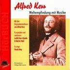 Alfred Kerr - Weltempfindung mit Musike, 1 Audio-CD