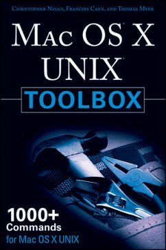 Mac OS X Unix Toolbox: 1000+ Commands for the M...