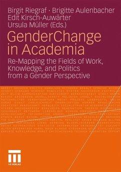 Gender Change in Academia