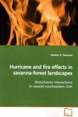 Hurricane and fire effects in savanna-forest landscapes