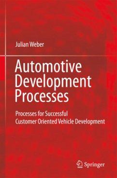Automotive Development Processes - Weber, Julian